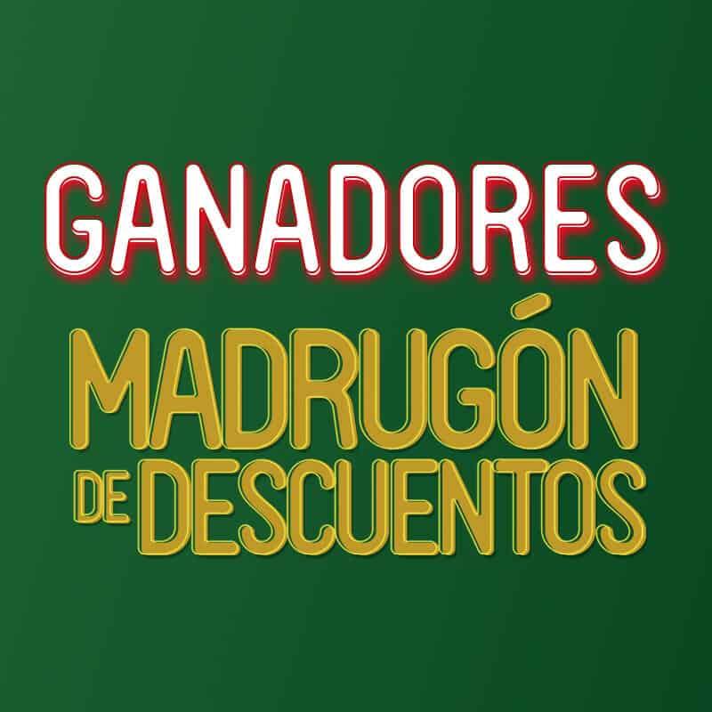 GANADORES MADRUGÓN